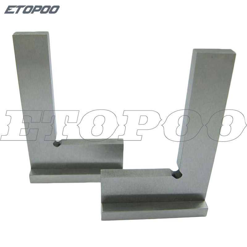 1 Pcs Grade Gehärtet Hohe Carbon Stahl 90 Grad Flache Rand Platz Mit Breite Basis 90 Grad Industrie Breite Basis Sqaure 3 Größe