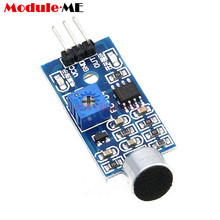 3pin Voice Sound Detection Sensor Module Intelligent Smart Vehicle Robot Helicopter Airplane Aeroplane Car for arduino DIY KIT(China)