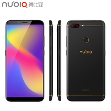 Original Nubia N3 Cell Phone 6 01inch 4GB RAM 64 ROM Snapdragon 625 Octa Core Android