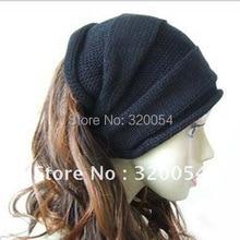 Knit-Cap Warm-Hats Winter Korean-Fashion Women Fall And 1pcs Hedging Multi-Color