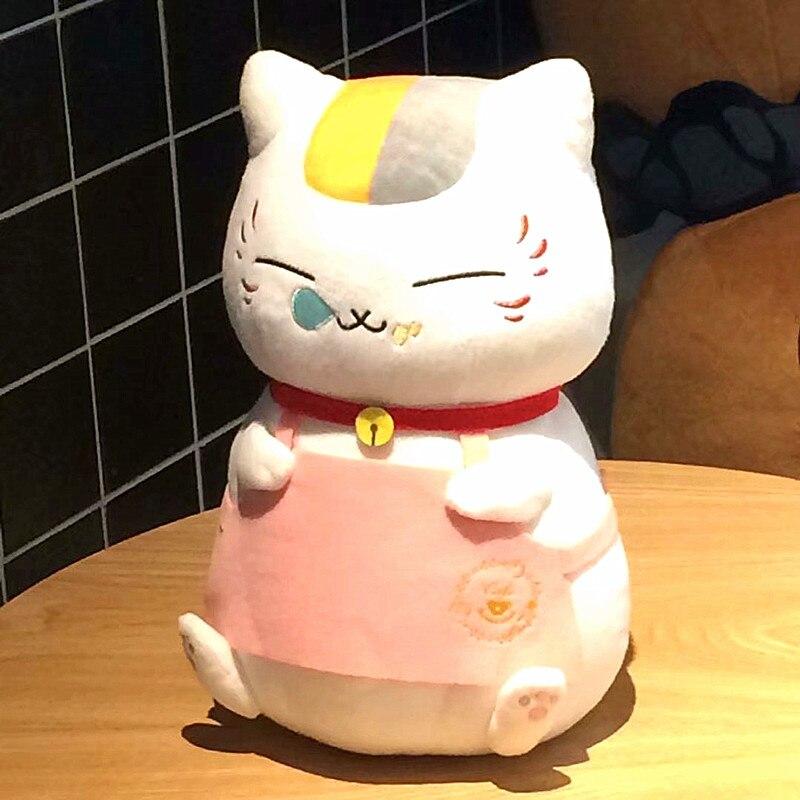 30 centimetros natsume yuujinchou nyanko sensei cat plush anime boneca de brinquedo presente de natal
