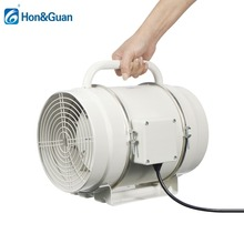 8inch 220V Home Portable Inline Duct Fan Air Ventilator Ventilation Exhaust Fan Extractor with Handle &Mesh Kitchen Bathroom Fan все цены