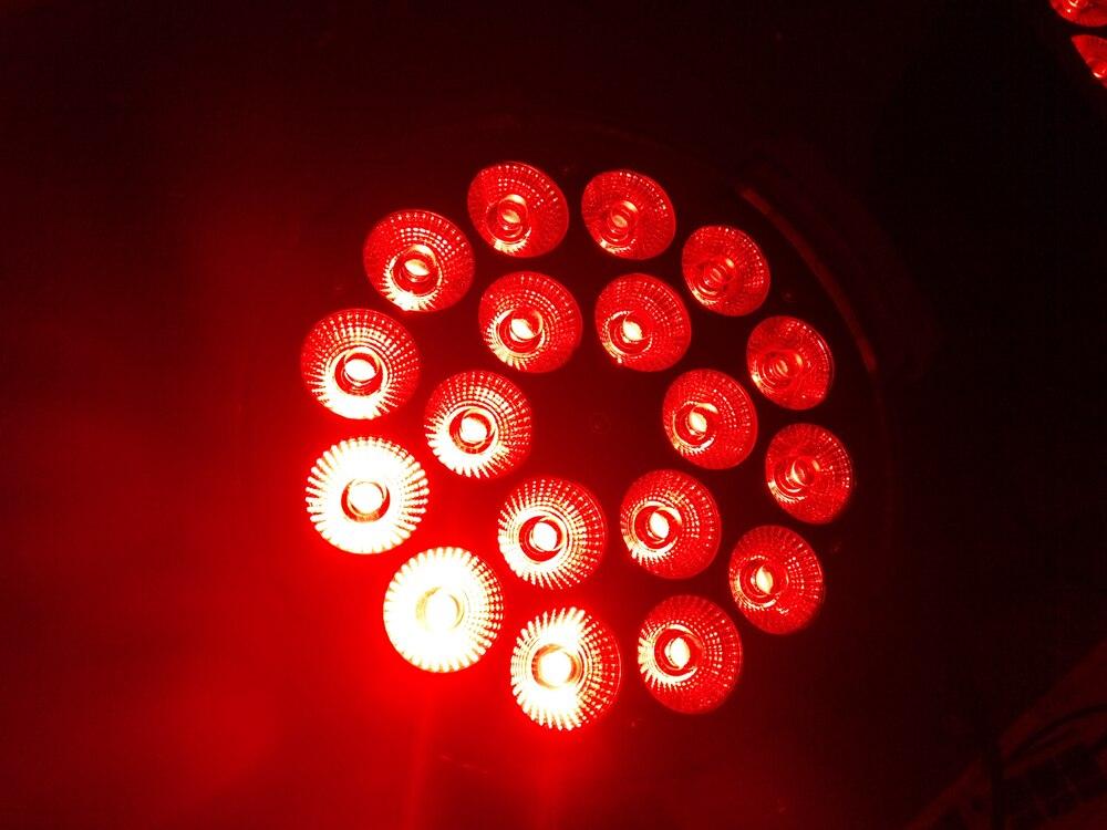 20XLot Quad Color Led Par 18 x 12W RGBW 4 in 1 Indoor IP20 LED Par Light 220W RGBW PAR DMX PAR Stage Lighting Stage Washer Light