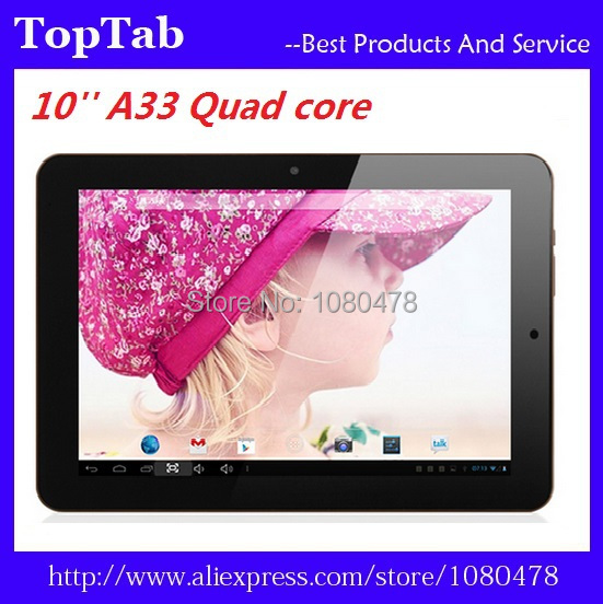 ФОТО DHL Free shipping 50pcs/lot Allwinner A33  quad Core 1GB 16GB Capacitive Touch Screen1024*600 Tablet pc