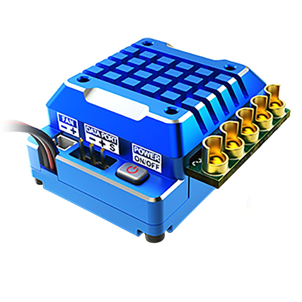 Oyuncaklar ve Hobi Ürünleri'ten Parçalar ve Aksesuarlar'de SKYRC TORO TS120 Yükseltme Sürümü RC Sensörlü fırçasız motor 120A ESC Hız Kontrol'da  Grup 1
