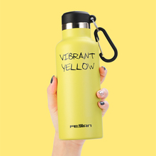 FEIJIAN 350/500ml Thermal Cup Vacuum Flask Water Bottle Stainless Steel Heat Insulation Drink Thermos Portable