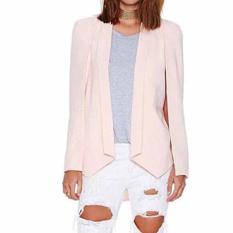 Nouveau-promo-femmes-printemps-asym-trique-blazers-slim-manches-longues -de-split-poncho-veste-manteaux-casual.jpg 44ce027dadb