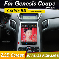 Android 6.0 Car Radio GPS Head Unit For Hyundai rohens genesis coupe 2008 2014 multimedia player system