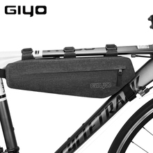 GIYO Waterproof Bicycle Bag Case Road MTB Bike Frame Bag Pouch Accessories Bicycle Front Rear Tube Saddle Bag For Bike Cycling easydo waterproof bicycle bike saddle bag cycling back rear seat bags pouch mtb road bike bag accessories bicycle storage bag