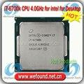For Intel Core i7 6700k Processor 4.0GHz /8MB Cache/Quad Core /Socket LGA 1151 / Quad-Core /Desktop I7-6700k CPU