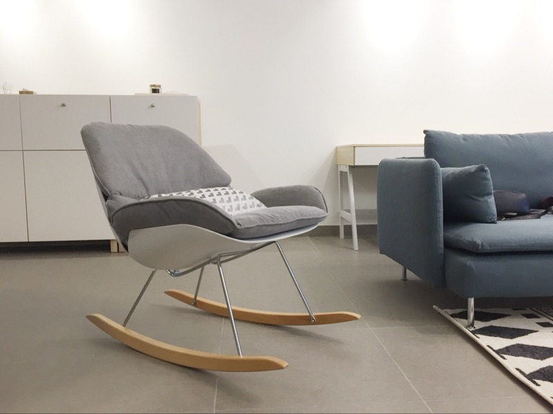 Lounge Stoel Woonkamer : Aliexpress koop minimalistische moderne ontwerp schommelstoel