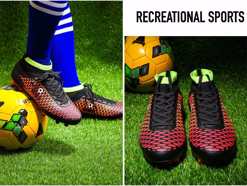 High Ankle Football Boots Kids Botines Botas Futbol 2017 Youth Superfly Soccer Sports Shoes Outdoor Training Sneakers Hot Sale16