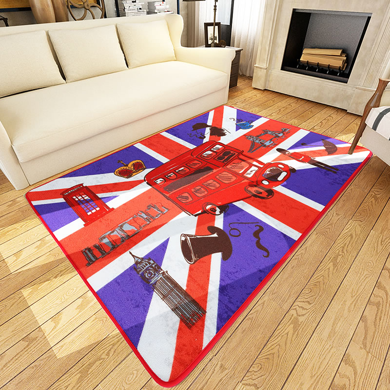160X230CM British Style Carpets For Living Room Home Bedroom Rugs And Carpets Coffee Table Area Rug Children Play Floor Mat