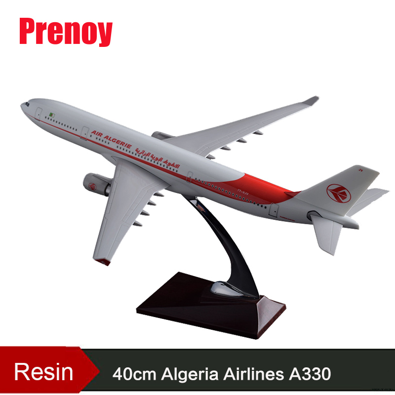 40cm Resin A330 Airbus Model Algeria Airlines Airways Air Algeria International Algeria A330 Airplane Aviation Aircraft Model игрушечная техника и автомобили 16 airbus 330 a330 airways w air aeroflot a330 airlines