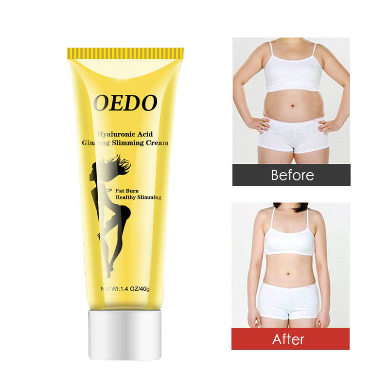 1PCS Summer Essential OEDO Hyaluronic Acid Ginseng Weight Loss Cream Reduces Fat Burning Fat Slimming Slimming