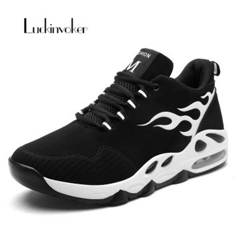 New Running Shoes Men Air Sole Sports Shoes Lace Up Breathable Light Outdoor Gym Men Sneakers Trainer Gym Shoes Jogging Walking