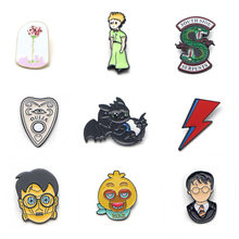 V120 TV Series Riverdale Metal Enamel Pins and Brooches Fashion Lapel Pin Backpack Bags Badge Collection Gifts(China)
