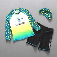 Surfing Suit Swimming-Suit Long-Sleeves Sportswear Beachwear Two-Pieces Good-Quality