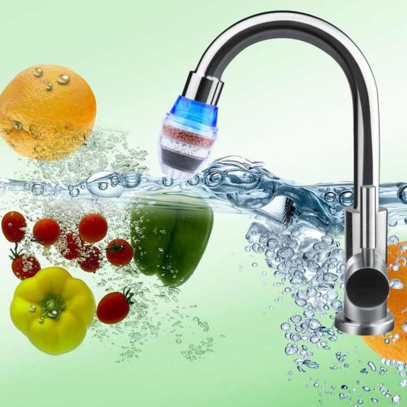 ホーム浄水器の蛇口フィルター水道浄水器キッチンタップ活性炭水フィルター