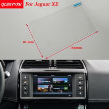 Car Sticker 8 Inch GPS Navigation Screen Steel Protective Film For Jaguar XE Control of LCD Screen Car Styling
