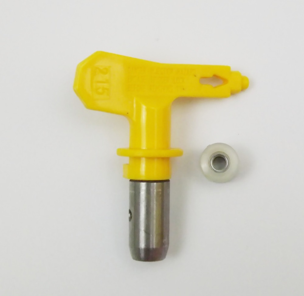 Yellow 215 Airless Paint Spray Gun Sprayer Tip For Graco Titan Wagner Kit high pressure 3600psi airless paint spray gun for titan wagner graco sprayer power tools