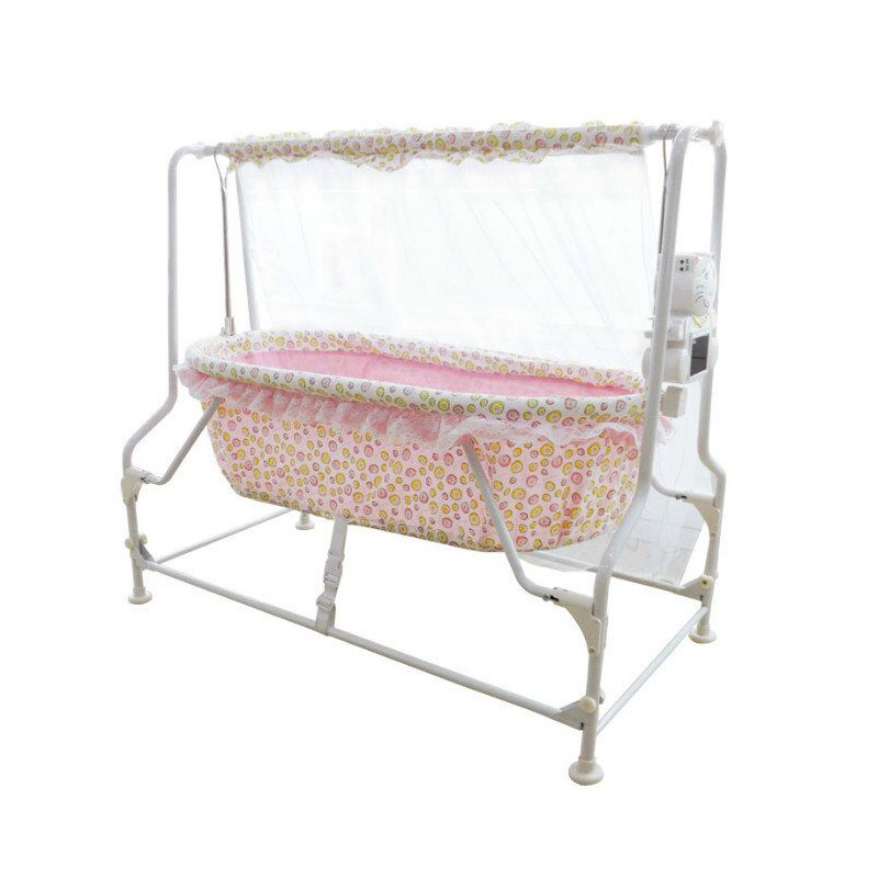 Baby bed  Intelligent Multifunctional Electric Baby Cradle Bed Newborn Bb Bed Automatic Rocking Bed Is Small To Sleep 2017 new babyruler portable baby cradle newborn light music rocking chair kid game swing