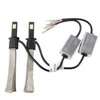 Aluminum Alloy Belt Heat Dissipation Car Styling 6000K 30W Each Bulb 3200LM Conversion Kit Easy To