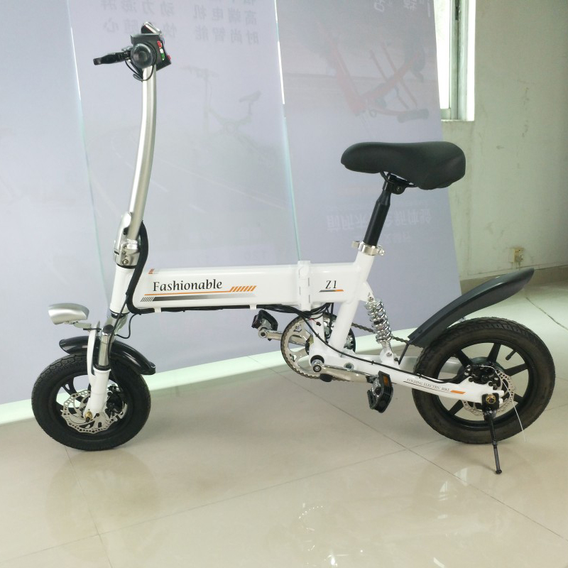 Sale 14inch folding electric bike mini lithium battery bicycle Portable adult  powered motorcycles Two-disc brakes electric bicycle 20