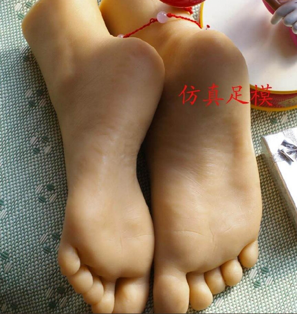 Silicone feet sex toy