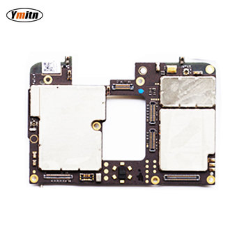 Ymitn Mobile Electronic Panel Mainboard Motherboard Unlocked With Chips Circuits flex Cable For Meizu 15 15 plus 15plus