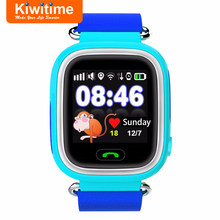 Smart Baby Watches Q90 Kids GPS Tracker Phone for Children with Sim Card Touch Screen SOS Position Finder Clock pk Q50 Q100 Q528(China)