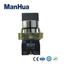 Manhua Hot Product 220VAC Rotary Selector Switches with Circular Head ZB2-BE101