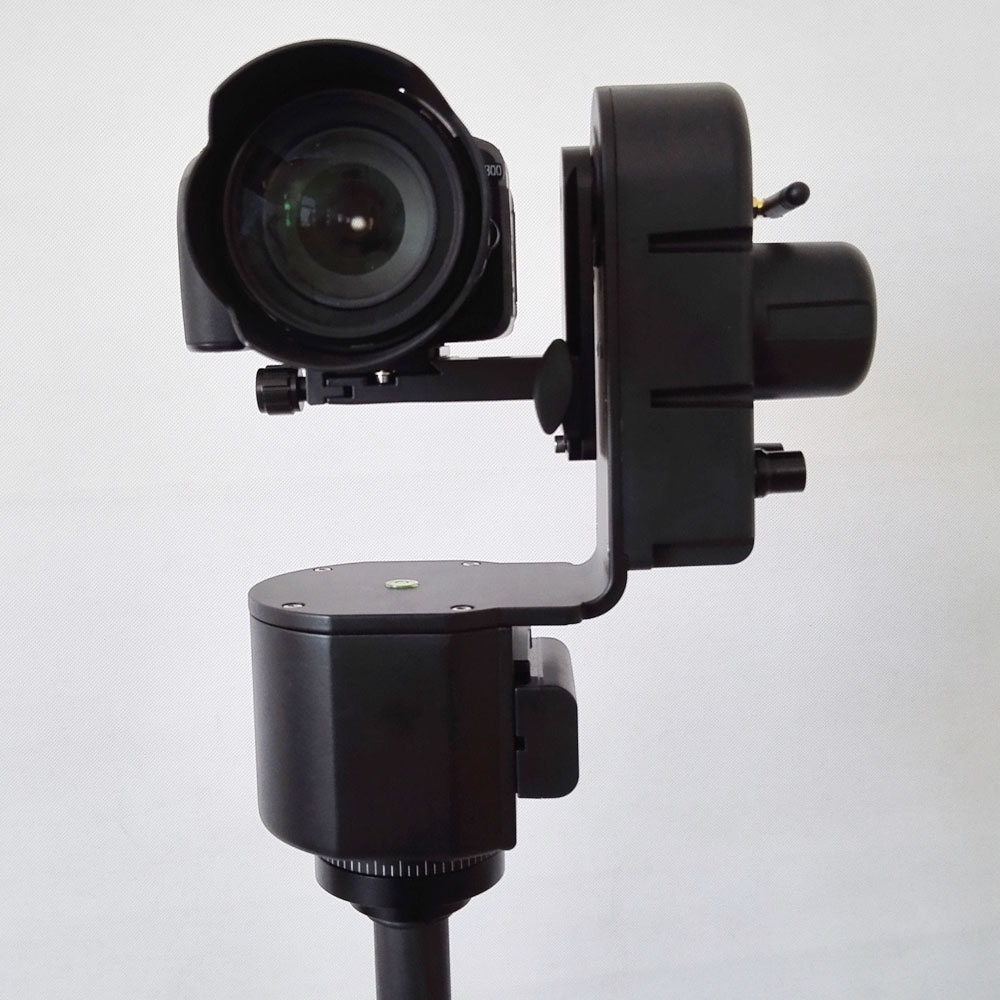 Image 5 - ZIFON YT 3000 remote control electric yuntai WIFI camera remote control yuntai surgery video phone show a mobile phone APP-in Tripod Heads from Consumer Electronics