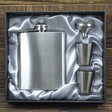 Personalized 7oz Thickening Stainless Steel Hip Flask Travel Outdoor Sports Russian Large Pocket Flask,Wholesale Flasks BJJ334