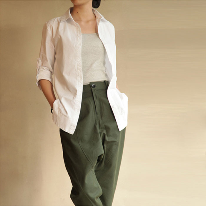 mode slim casual blouse