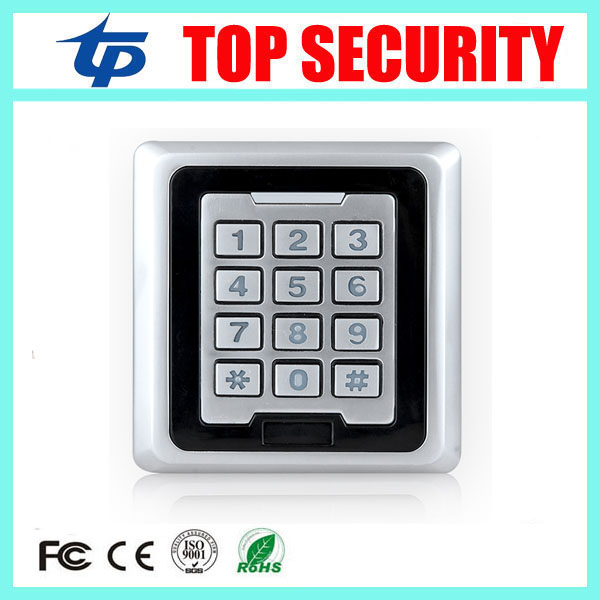IP65 waterproof outdoor use smart card 125khz RFID card access controller 8000 users standalone door access control card reader 125khz rfid card smart card reader for access control system weigand26 and weigand34 ip65 waterrproof out door use card reader