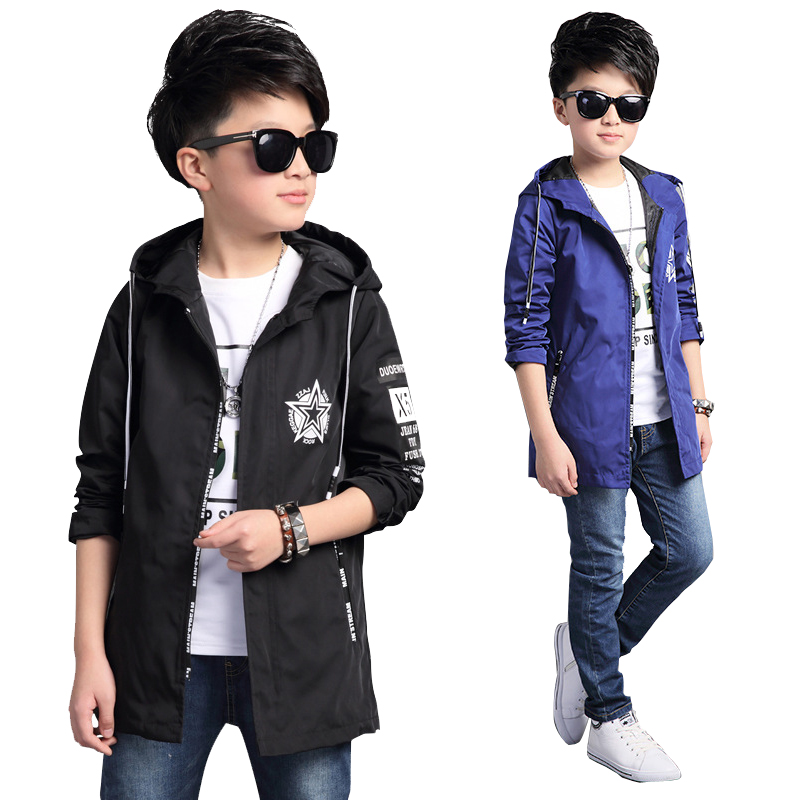 6 8 10 12 14 16 years Big Boys Windproof sport coat  Jackets sportswear coat For Teenage Spring Autumn Kids Clothing Outerwear spring outfits for kids