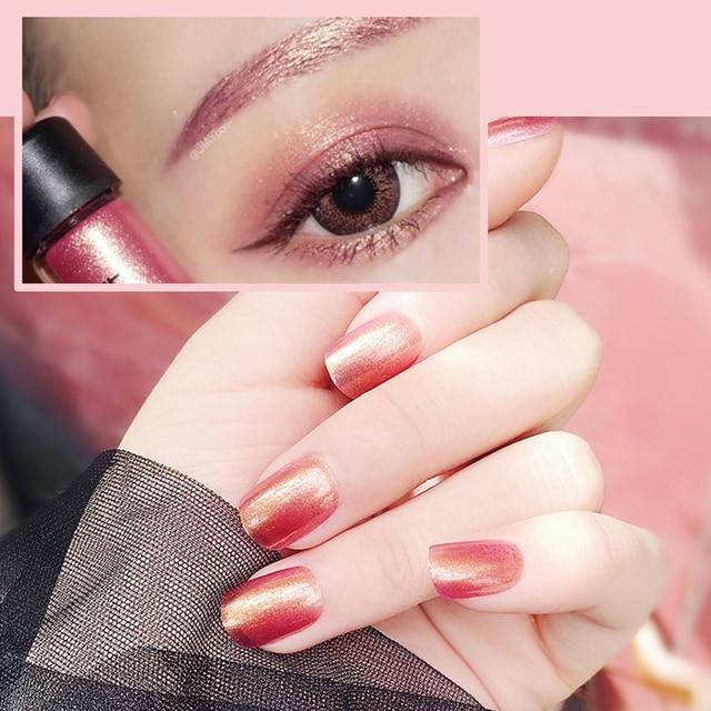 Sirena de la manera del color puro tamaño uñas postizas uñas ...