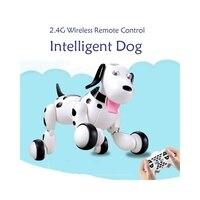 RC Walking Dog 2 4G Wireless Remote Control Smart Dog Electronic Pet Children S Toy Birthday