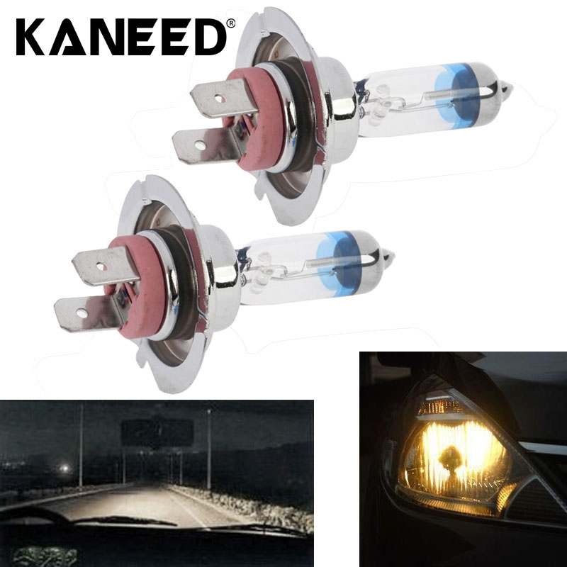 2PCS H7 12V 55W 4300K 2100lm Halogen Bulb Xenon White Fog Lights High Power Car Headlight Lamp Car Light Source parking auto 2 pcs h7 6000k xenon halogen headlight head light lamp bulbs 55w x2 car lights xenon h7 bulb 100w for audi for bmw for toyota