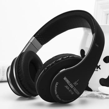 Wireless Bluetooth Headset Sports Headphone Bass Earphones with Mic FM Radio TF Card Slot Handsfree for Iphone Samsung Xiaomi