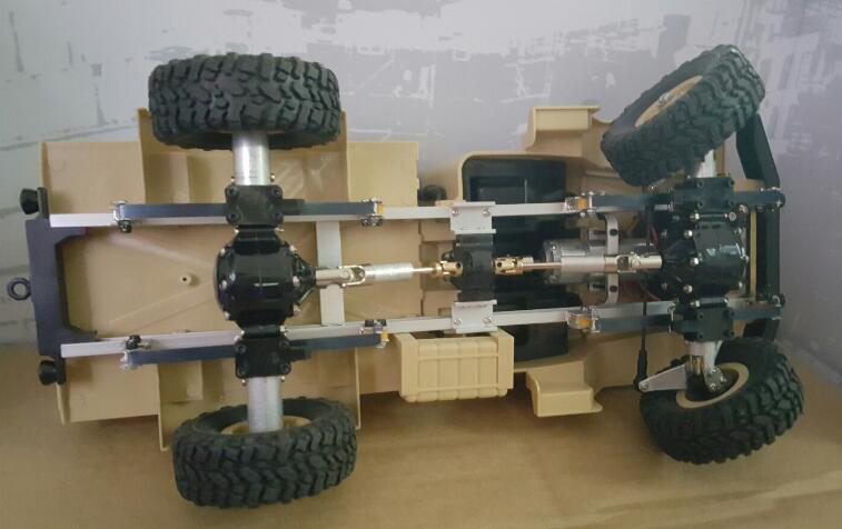für WPL B1 B-1 B14 B-14 B16 B24 B-24 C14 C-14 C-24 B36 D9091 Halter aus Metall