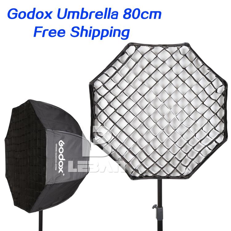 """Prix pour Godox Portable 80 cm/32 """"Parapluie + Grille Photo Softbox Réflecteur pour Flash Speedlight"""
