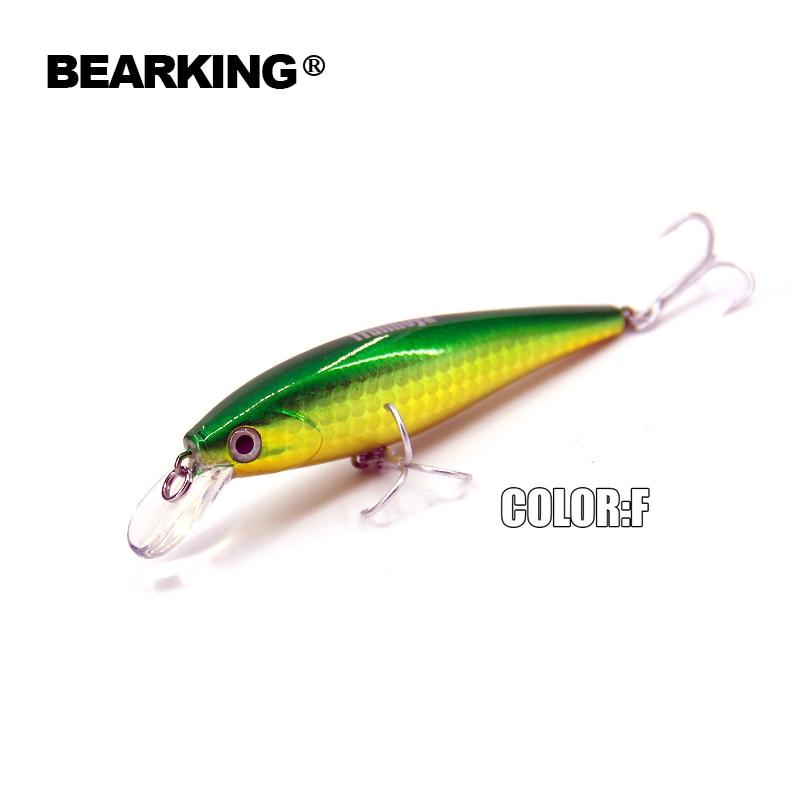 2017 model i nxehtë Bearking 7.8cm 9.2g Wobblers Peshkimi 5 copë / - Peshkimi - Foto 3