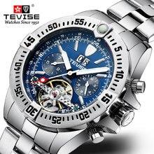 Fashion Luxe Mechanische Horloges Tourbillon Automatische Kalender Mannen Horloge Business Waterdicht Horloge relogio masculino