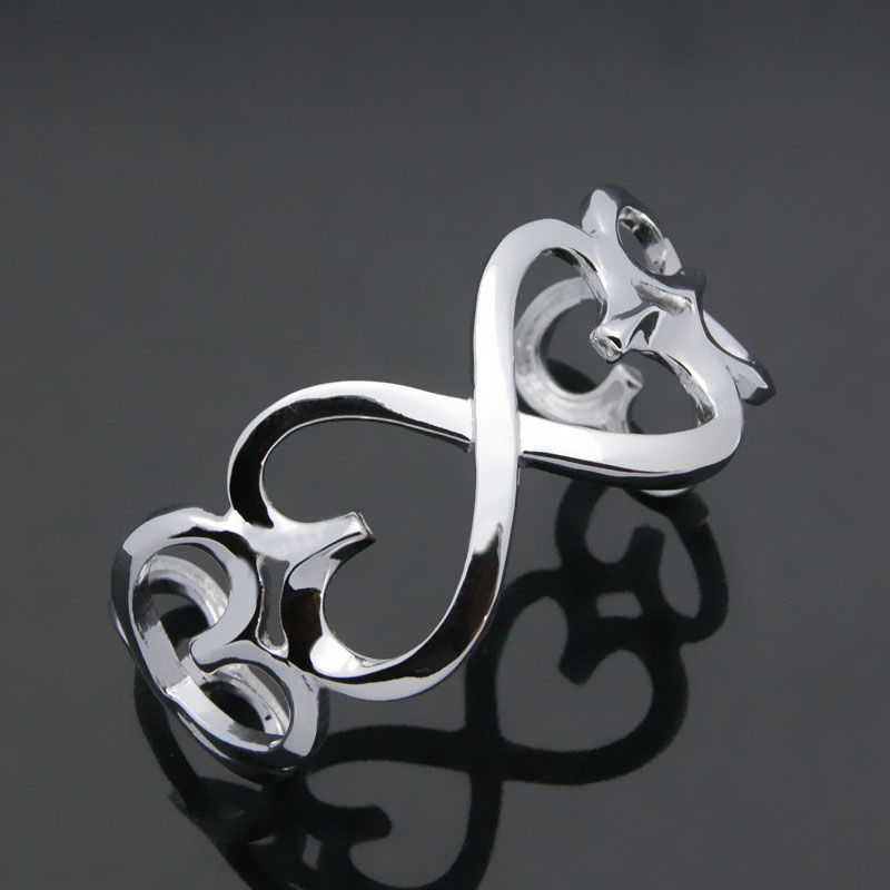 Charming lady sterling silver jewelry.Contracted solid 925 silver women bracelet.Can be adjust when 20 mm wide bracelet.