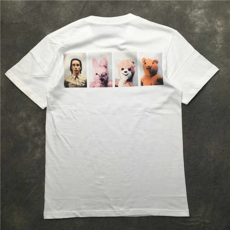 Nieuwe 2019 parkour Pop Beer Menselijk T-shirts T-Shirt Hip Hop Skateboard Straat Katoenen T-Shirts Tee Top kenye S-XXL # k46