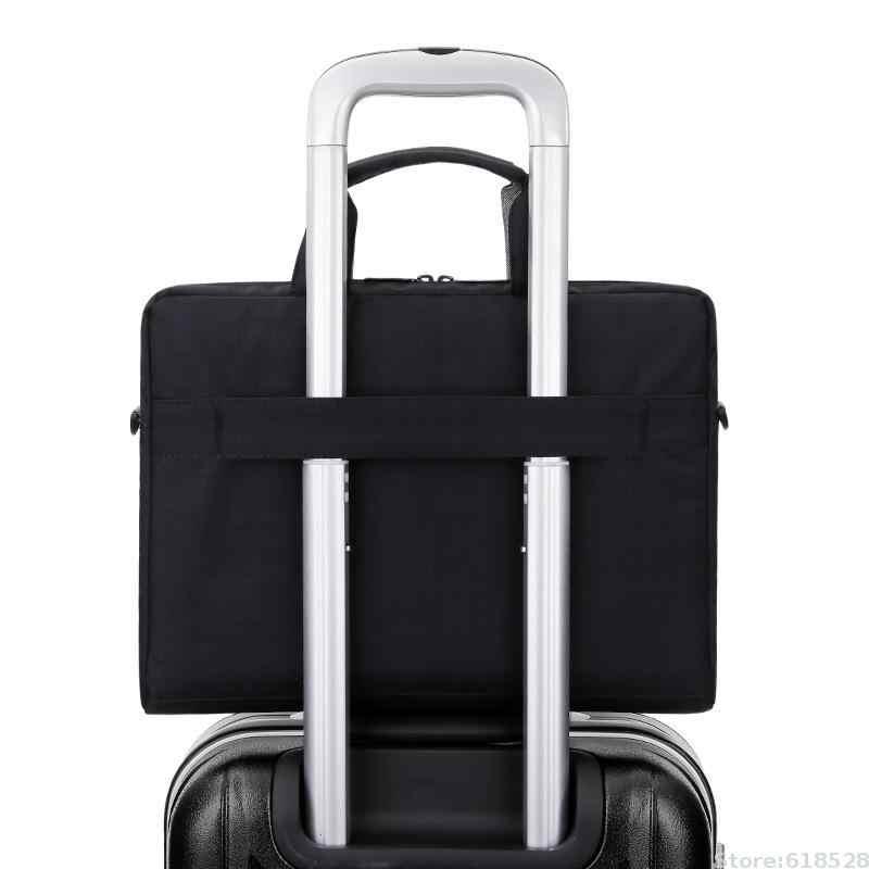 Brinch 13.3 14.6 15.6 بوصة حقيبة لابتوب النايلون الصلبة للصدمات دفتر جراب كمبيوتر لوحي رسول حقيبة كتف للجنسين