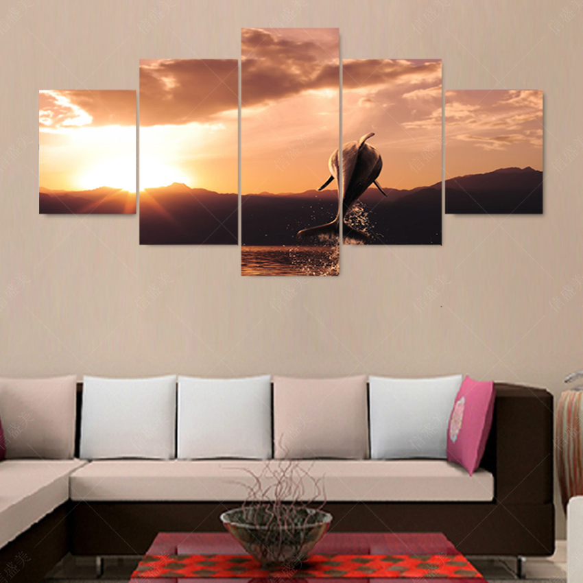 Popular dolphin picture frames buy cheap dolphin picture - Home deco peinture ...