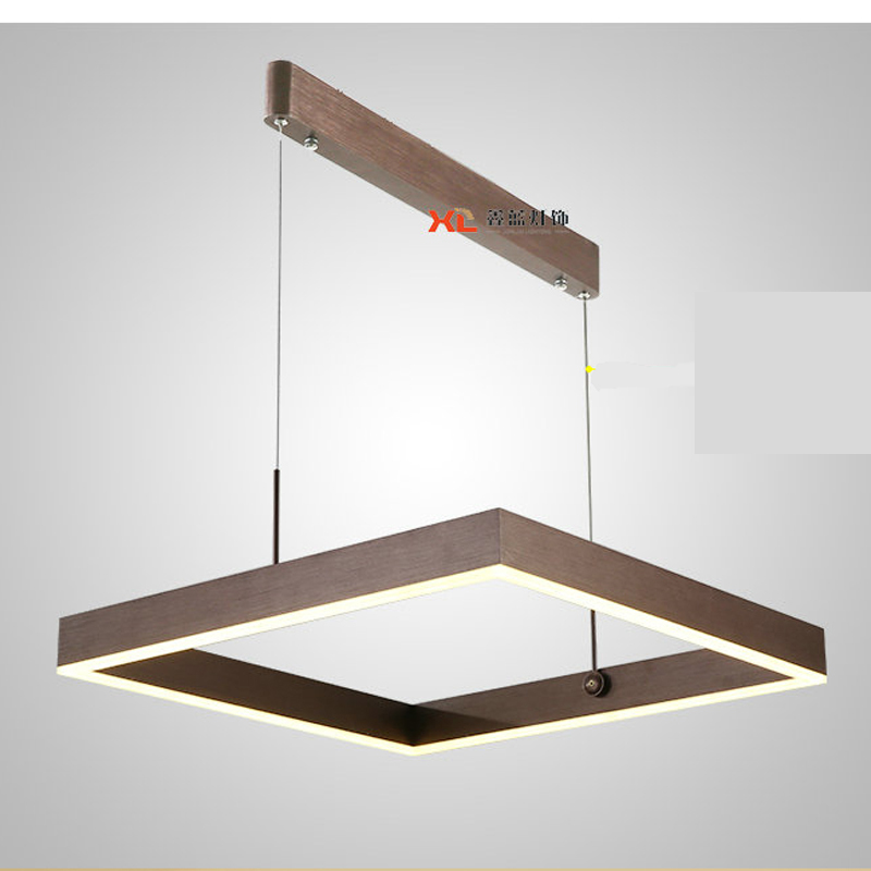 Modern Led ceiling lamps Originality Personality Rectangle Northern Europe Lamps Bar pendant light wl3261146